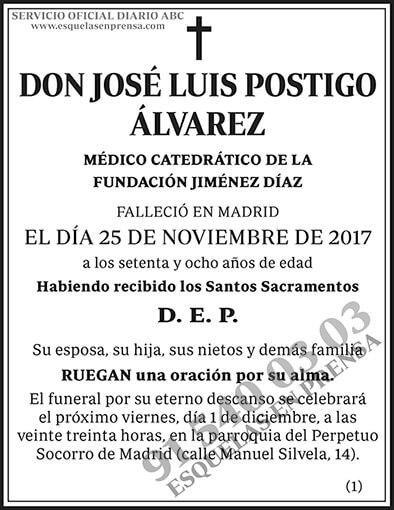 José Luis Postigo Álvarez